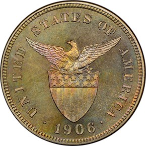 1906 USA-PHIL 5C PF reverse