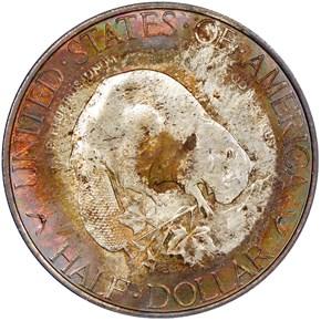 1936 ALBANY 50C MS reverse