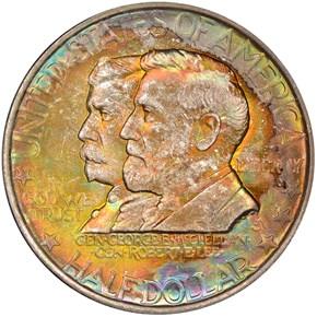1937 ANTIETAM 50C MS obverse