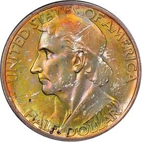 1934 BOONE 50C MS obverse