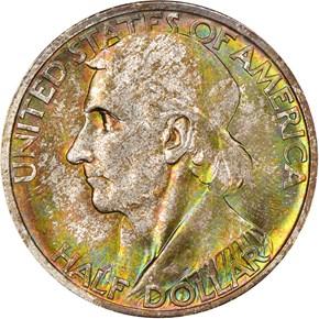 1935 BOONE 50C MS obverse