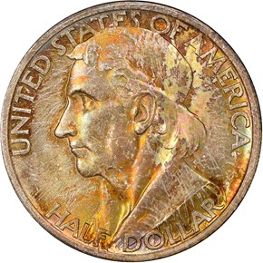 1936 S BOONE 50C MS obverse
