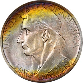 1938 BOONE 50C MS obverse