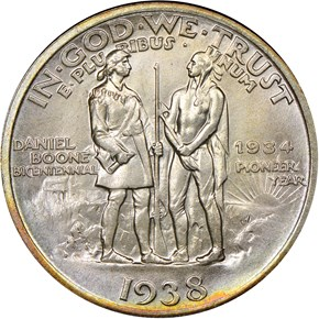 1938 BOONE 50C MS reverse