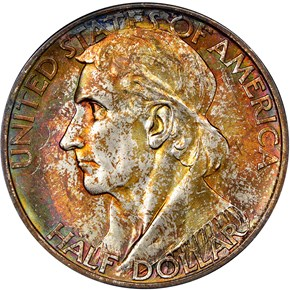 1938 D BOONE 50C MS obverse