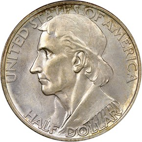 1938 S BOONE 50C MS obverse