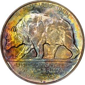 1925 S CALIFORNIA 50C MS reverse