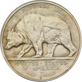 1925 S CALIFORNIA 50C PF reverse