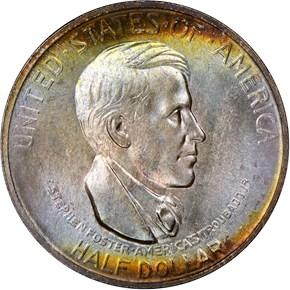 1936 CINCINNATI 50C MS obverse