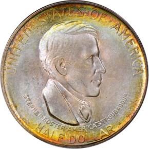 1936 D CINCINNATI 50C MS obverse
