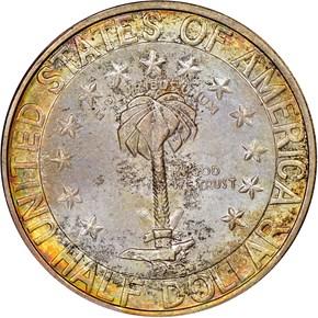 1936 S COLUMBIA 50C MS reverse