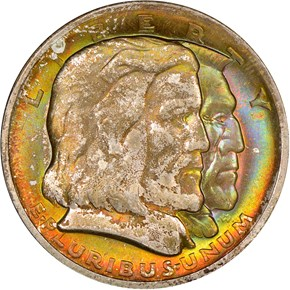 1936 LONG ISLAND 50C MS obverse