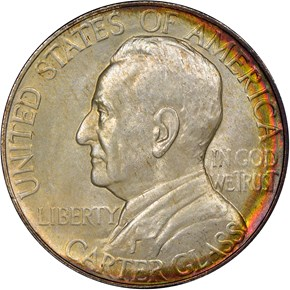 1936 LYNCHBURG 50C MS obverse
