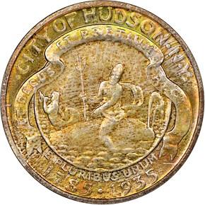 1935 HUDSON 50C MS obverse