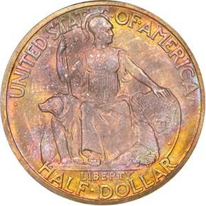 1936 D SAN DIEGO 50C MS obverse