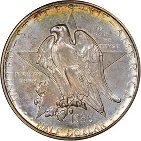 1938 D TEXAS 50C MS obverse