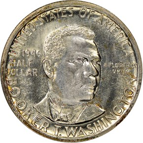 1946 S BOOKER T. WASHINGTON 50C MS obverse