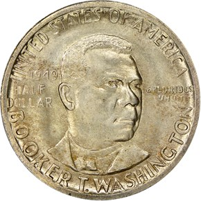 1949 BOOKER T. WASHINGTON 50C MS obverse