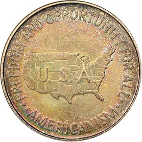 1951 WASHINGTON-CARVER 50C MS reverse
