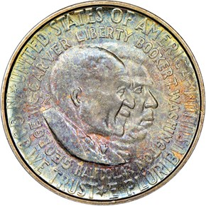 1952 S WASHINGTON-CARVER 50C MS obverse