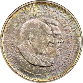 1954 D WASHINGTON-CARVER 50C MS obverse