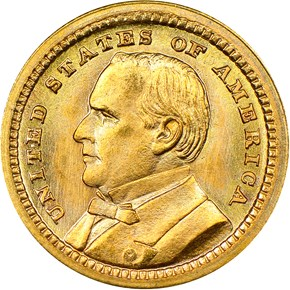 1903 MCKINLEY LOUISIANA PURCHASE G$1 MS obverse