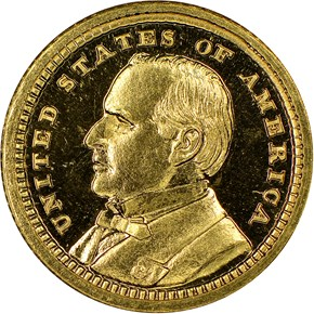 1903 MCKINLEY LOUISIANA PURCHASE G$1 PF obverse