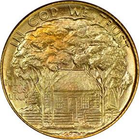 1922 GRANT G$1 MS reverse