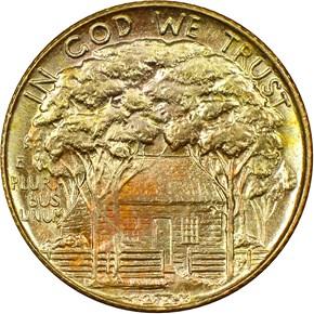 1922 STAR GRANT G$1 MS reverse