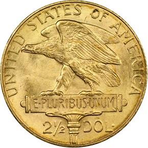 1915 S PANAMA-PACIFIC $2.5 MS reverse