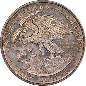 1918 LINCOLN-ILLINOIS 50C SP reverse