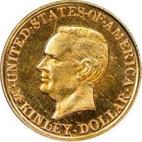 1916 MCKINLEY G$1 PF obverse