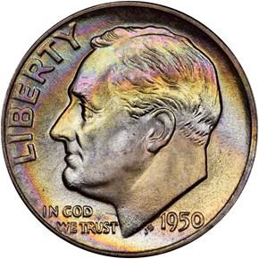 1950 10C MS obverse