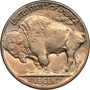 1913 D TYPE 2 5C MS reverse