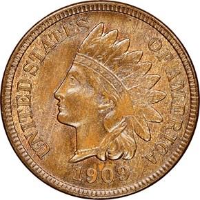 1909 S INDIAN 1C MS obverse