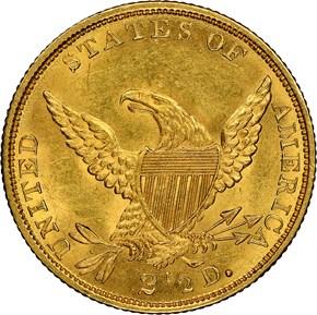 1834 CLASSIC $2.5 MS reverse