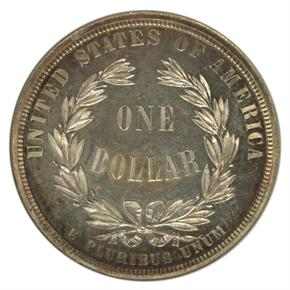 1876 J-1457 S$1 PF reverse