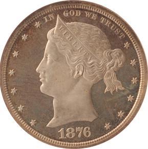 1876 J-1462 S$1 PF obverse