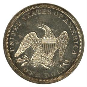 1876 J-1470 S$1 PF reverse