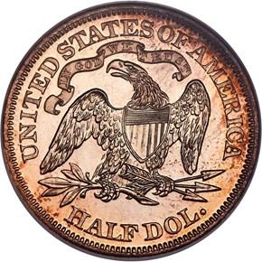 1870 J-934 50C PF reverse