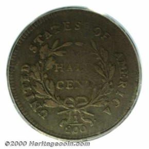 1796 NO POLE C-1 1/2C MS reverse