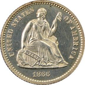 1866 H10C PF obverse