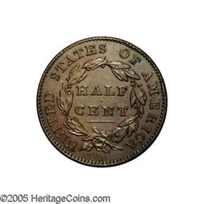 1831 ORIGINAL 1/2C PF reverse