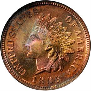 1886 1C PF obverse