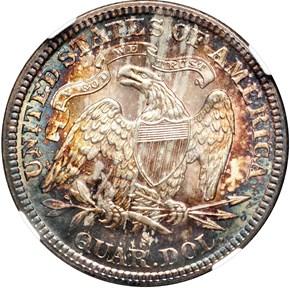 1888 S 25C MS reverse