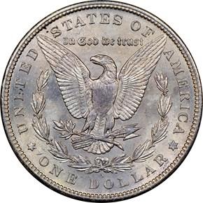 1896 S S$1 MS reverse