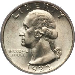 1932 25C MS obverse