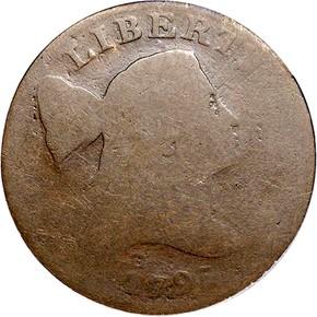1795 LT EDGE JEFFERSON NC-1 1C MS obverse