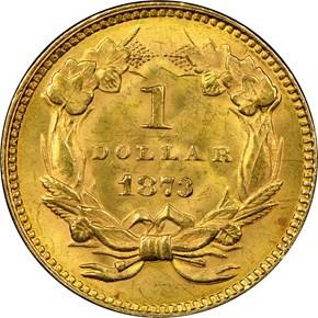 1873 OPEN 3 G$1 MS reverse