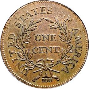 1795 PLAIN EDGE 1C MS reverse